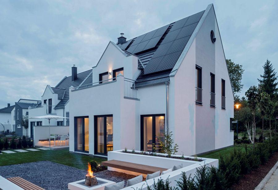 Energieeffizienzhaus Rostock als KfW 40 Haus realisiert.