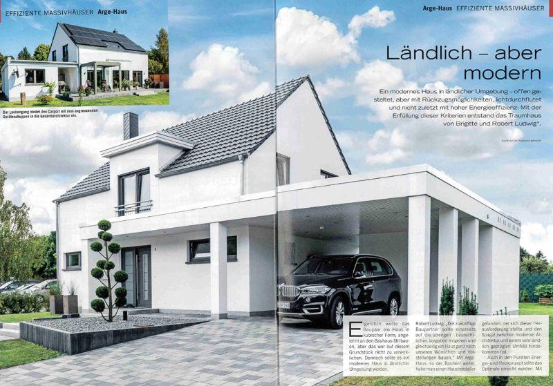 Landlich Aber Modern Arge Haus Hausbau Rostock