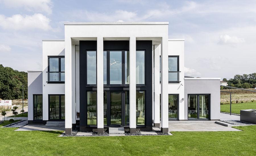 Ein Eigenheim im Bauhaus-Stil in Wismar.