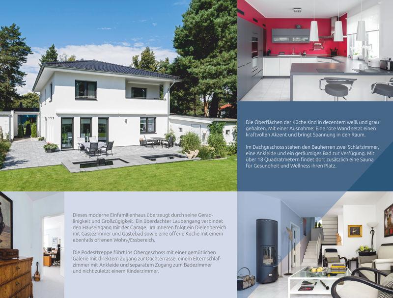Moderne Stadtvilla Arge Haus Hausbau Rostock